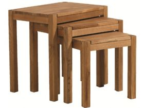 Duke Oak Nest of Tables