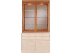 Nathan Furniture Classic Range Glazed Display Top Unit