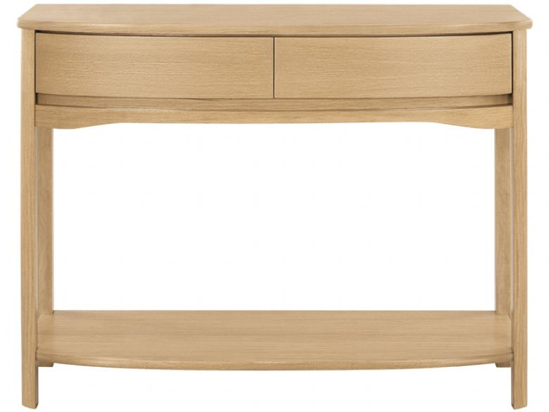 Shaped Console Table