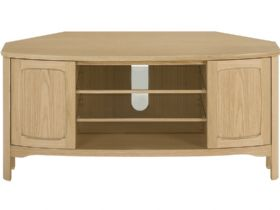 Nathan Furniture Shades Range Shaped Corner TV Unit