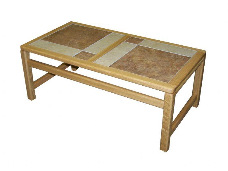 monaco coffee table tile top lee longlands