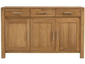 Duke Oak 3 Door Sideboard