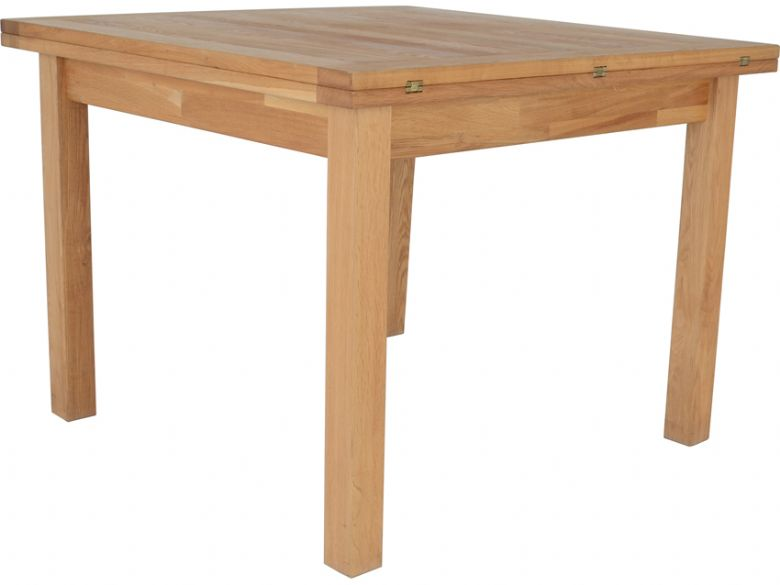 Venice Oak Flip Top Dining Table Lee Longlands