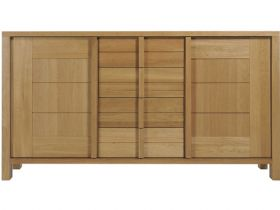 Oak Wide Sideboard