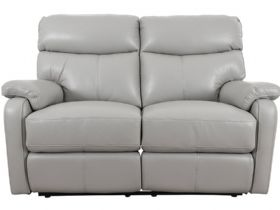 2 Seater Leather Manual Recliner Sofa