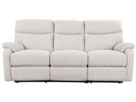 Scott Leather 3 Seater Power Recliner Sofa