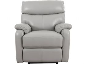 Scott grey power recliner chair available at Lee Longlands