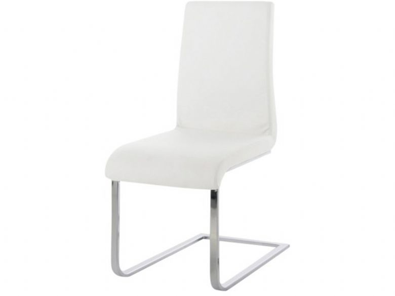 White Maddox dining chair