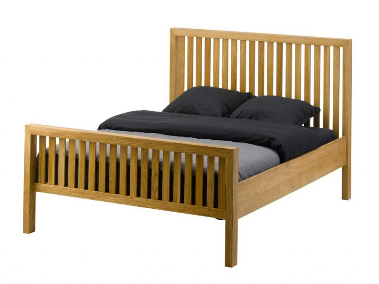 Oak 5'0 Kingsize Bed Frame