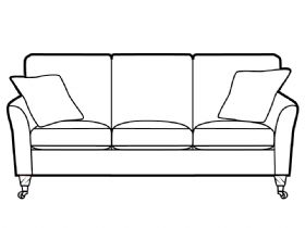 3 Seater Accent Sofa