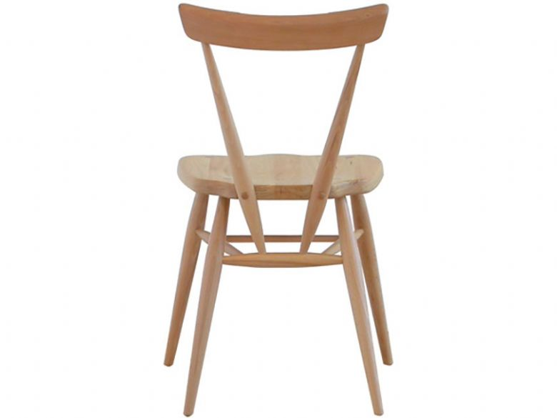 Ercol stacking chair - back