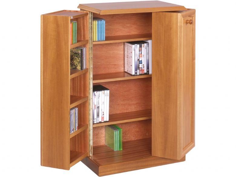 Trafalgar Collection Dvd Cd Large Storage Cabinet Lee