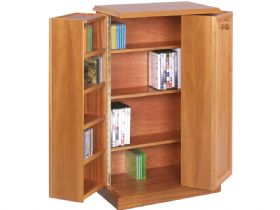 DVD/CD Large Storage Cabinet open