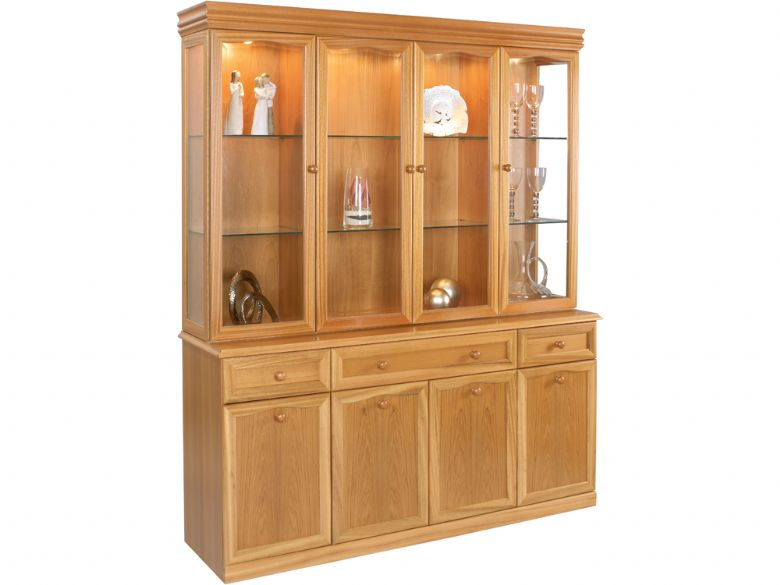 4 Glass Door Display Unit