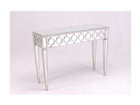 Florentine Mirrored Console Table