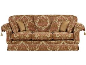 Delphic 3 Seater High Arm Sofa