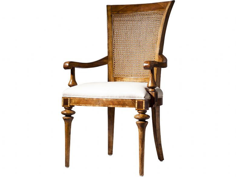 Cane Back Carver Dining Chair