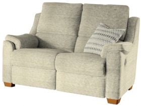 2 Seater Double Manual Recliner Sofa