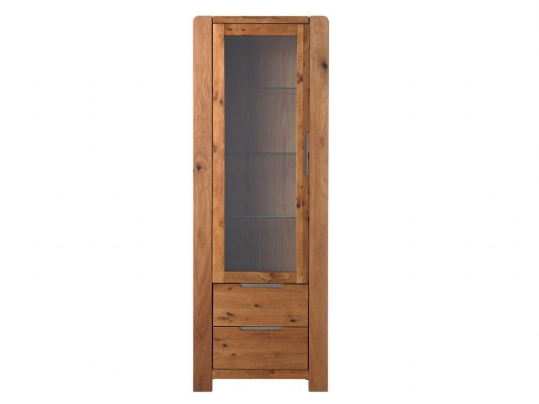 Oak 1 Glass Door Tower