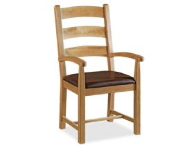 Oak Dining Armchair