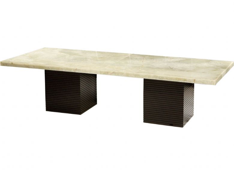 Portofino stone 3m dining table lee longlands for Table 3m
