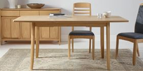 Circular Extending Dining Table in Teak