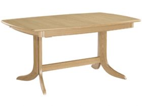 Extending Boat Pedestal Table
