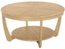 Sunburst Round Coffee Table