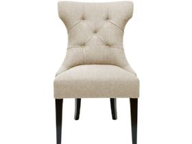 Stuart Jones Michigan cream fabric dining chair