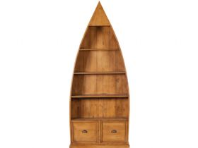 4 Shelf Boat Bookcase