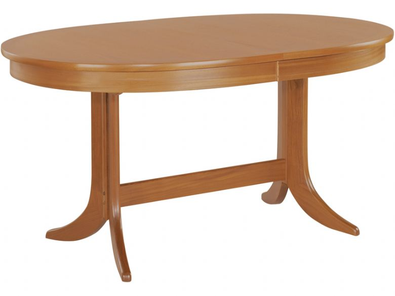 Large Oval Pedestal Dining Table