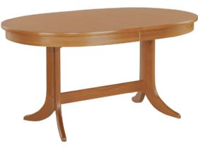 Nathan Furniture Classic Range Large Oval Pedestal Dining Table