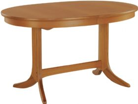 Nathan Furniture Classic Range Oval Pedestal Dining Table