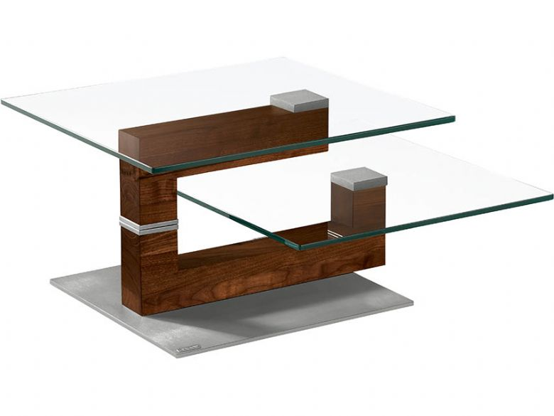 Venjakob Two Tier Glass Coffee Table