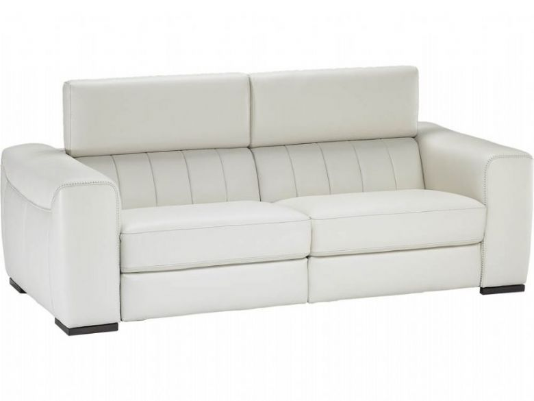 Natuzzi Editions Alvia 3 Seater Leather Sofa - Lee Longlands