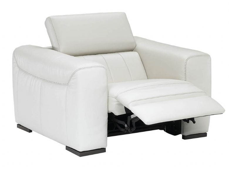 Natuzzi Editions Alvia - head rests up & reclined