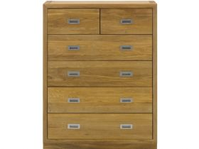 Oak 4+2 Drawers