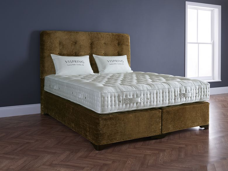 Vi spring shetland superb 4 39 0 small double divan base for Small double divan with mattress