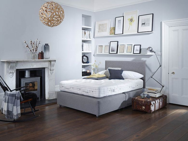 Vi-Spring Shetland Divan and Mattress