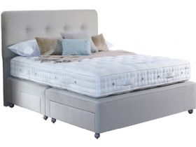 6'0 Super King Divan Base & Mattress