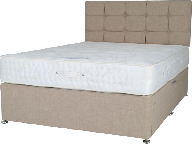 Royale 2500 4 39 0 small double divan mattress lee longlands for Small double divan and mattress