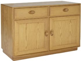Ercol Windsor 2 Door Cabinet with Drawers