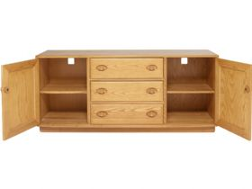 Ercol Windsor 2 door, 3 drawer sideboard