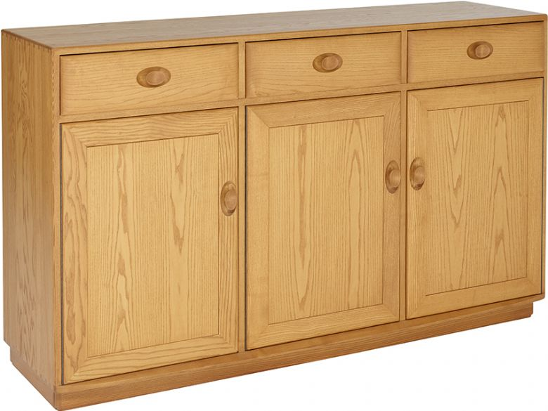 3 Door High Sideboard
