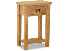 Oak Telephone Table