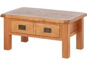 Fairfax Oak Coffee Table with Drawer