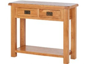 Fairfax Oak Console Table