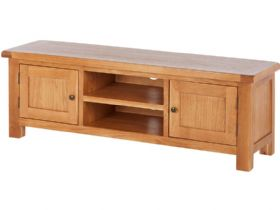 Oak Extra Large TV Unit