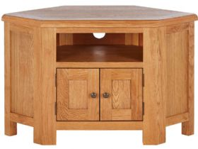 Fairfax Oak Corner TV Unit