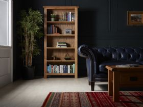 Fairfax Large Deep Bookcase